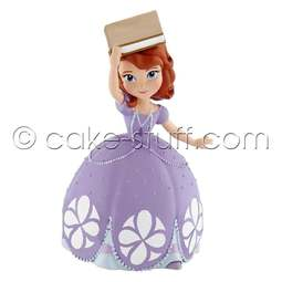 View the Sofia & Book - Disney Sofia the First cake topper decoration online at Cake Stuff