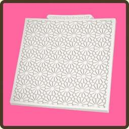 View the Daisy design mat silicone sugarcraft mould online at Cake Stuff
