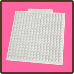 View the Waffle design mat silicone sugarcraft mould online at Cake Stuff