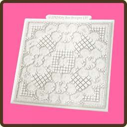 View the Duchess Lace Design Mat silicone sugarcraft mould online at Cake Stuff