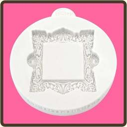 View the Vintage Square - Miniature Frames silicone mat sugarcraft mould online at Cake Stuff