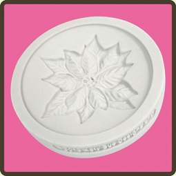 View the Poinsettia - Christmas cupcake silicone sugarcraft mould online at Cake Stuff