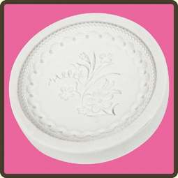 View the Victorian Garden 2 - cupcake silicone sugarcraft mould online at Cake Stuff