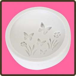 View the Butterfly Meadow - cupcake silicone sugarcraft mould online at Cake Stuff