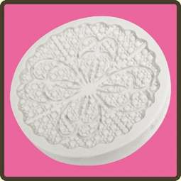 View the Anastasia lace cupcake silicone sugarcraft mould online at Cake Stuff