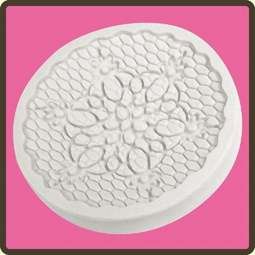 View the Rococo lace cupcake silicone sugarcraft mould online at Cake Stuff
