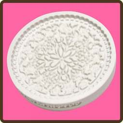 View the Floral Lace cupcake silicone sugarcraft mould online at Cake Stuff