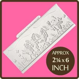 "View the 6"" Fairy Border silicone sugarcraft icing mould online at Cake Stuff"