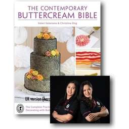 View the The Contemporary Buttercream Bible - signed copy online at Cake Stuff