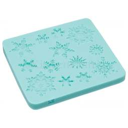 View the Snowflakes silicone sugarcraft mould online at Cake Stuff