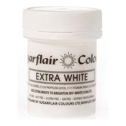 View the 50g EXTRA WHITE icing whitener & buttercream colouring online at Cake Stuff