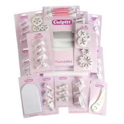 View the *PROMO* 50 pc cake decorating kit bundle online at Cake Stuff