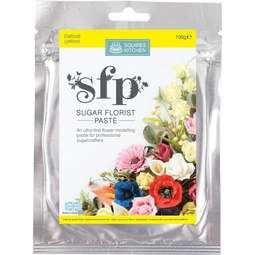 View the DAFFODIL yellow Sugar Florist Paste SFP flower modelling paste 100g online at Cake Stuff
