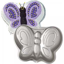 View the Butterfly novelty cake tin / pan online at Cake Stuff