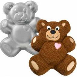 View the Teddy Bear novelty cake tin / pan online at Cake Stuff