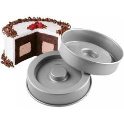 View the Fanci Fill 2 pc cake tin / pan set online at Cake Stuff