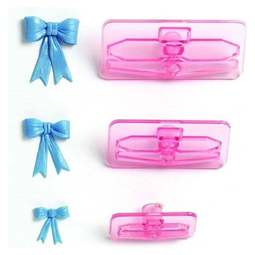 View the Small Bows 3 piece icing cutter set (sizes 1-3) online at Cake Stuff