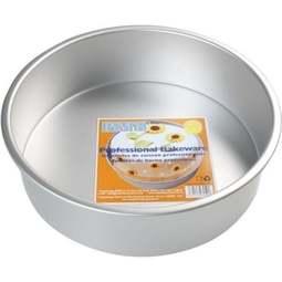 "View the 7"" / 18cm professional round aluminium cake tin pan - 3"" deep online at Cake Stuff"