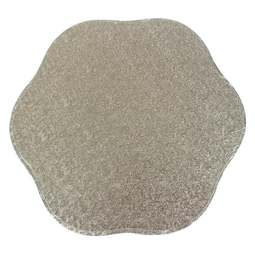 "View the 14"" petal cake board / drum online at Cake Stuff"