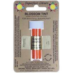View the SUNSET ORANGE Blossom Tint icing dusting colour 7ml online at Cake Stuff