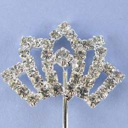View the TIARA / CROWN - diamante cake pick online at Cake Stuff