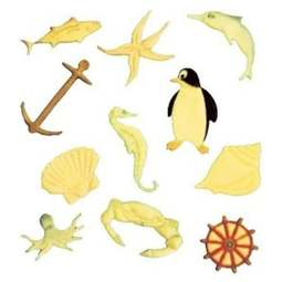View the Marine Seaside Fish Tappit icing cutter set - 11 designs online at Cake Stuff