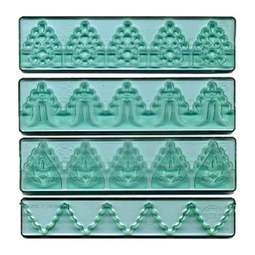 View the Textured Lace icing cutter set #3 online at Cake Stuff