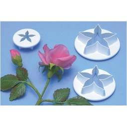 View the XL 3 piece flower calyx icing cutter set online at Cake Stuff