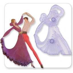View the The Dancers fondant icing gumpaste cutter set online at Cake Stuff