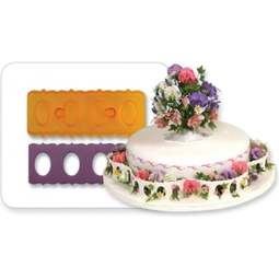 View the Oval Border fondant icing & gumpaste cutter online at Cake Stuff