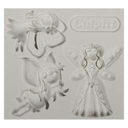 View the FAIRY PRINCESS silicone sugarcraft mould set online at Cake Stuff