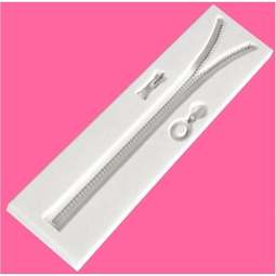 View the 6 inch ZIP ZIPPER design mat silicone sugarcraft mould online at Cake Stuff
