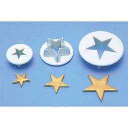 View the Star 3 piece icing cutter set online at Cake Stuff