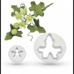 View the White Bryony 2 piece wild flower icing cutter set online at Cake Stuff