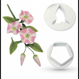 View the Field Bindweed 2 piece wild flower icing cutter set online at Cake Stuff