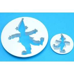 View the Clown 2 piece icing cutter set online at Cake Stuff