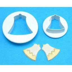 View the Bells 2 piece icing cutter set (small) online at Cake Stuff