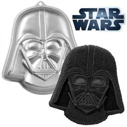 View the DARTH VADER - STAR WARS cake tin / pan online at Cake Stuff