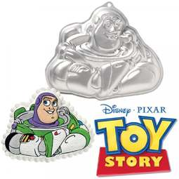 View the *CLEARANCE* BUZZ LIGHTYEAR - TOY STORY cake tin / pan online at Cake Stuff