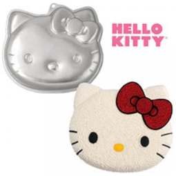 View the HELLO KITTY official novelty cake tin / pan online at Cake Stuff