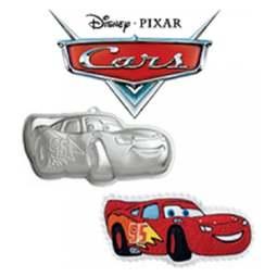 View the Cars Lightning McQueen cake tin / pan online at Cake Stuff
