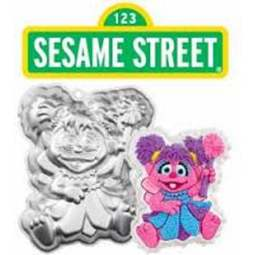 View the Abby Cadabby Sesame Street cake tin / pan online at Cake Stuff