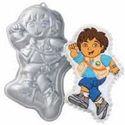 View the Diego / Dora the Explorer cake tin pan online at Cake Stuff