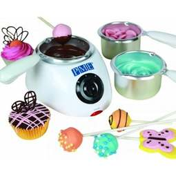 View the Electric Chocolate Melting Pot 4 pc set online at Cake Stuff