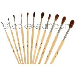 View the FULL SET all 11 economy pencil brushes online at Cake Stuff