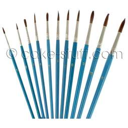 View the FULL SET all 11 artists' pencil brushes online at Cake Stuff
