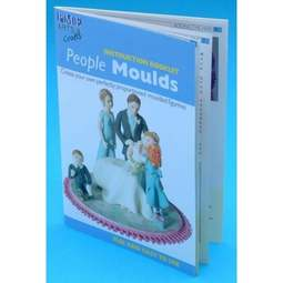View the INSTRUCTION BOOKLET for people mould sets online at Cake Stuff
