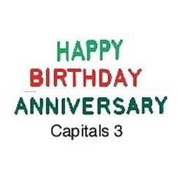 View the Capitals 3 - words icing embosser set online at Cake Stuff