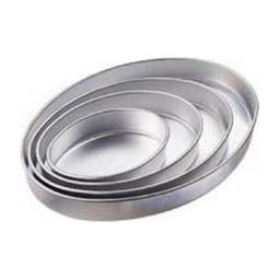 "View the set of 4: 7?"" / 10?"" / 13"" / 16?"" OVAL Performance cake tins online at Cake Stuff"