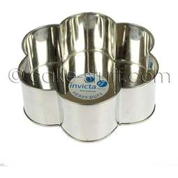 "View the 10"" / 254mm petal professional cake tin online at Cake Stuff"